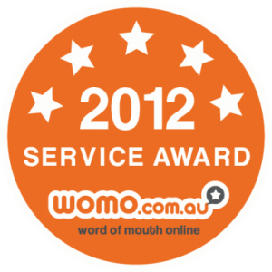 Instant Marquees Win 2012 WoMo Service Award