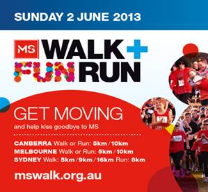 MS Walk & Fun Run – Great Exercise and a Great Cause!