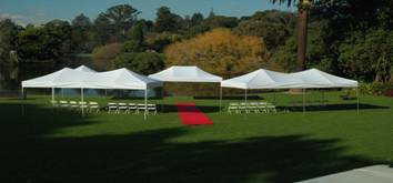 Marquee Hire for Spring Garden Weddings