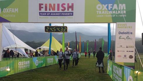 Oxfam Trail walk 2015
