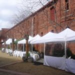 3M Wide Marquees for Winter Events